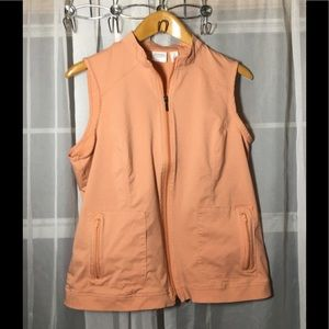 WEEKENDS Perfect Stretch Peach Vest by Chicos 2